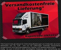 Versandkostenfreie Lieferung innerhalb Deutschlands