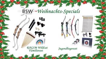 Weihnachtsangebote der BogenSportWelt.de