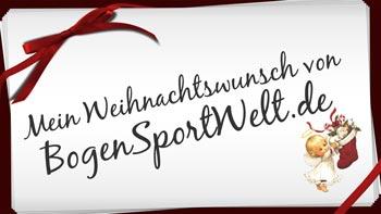 Mein Weihnachtswunsch von BogenSportWelt.de