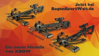 Neue Armbrüste von X-Bow