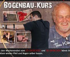 Bilder des ersten Bogenbaukurses in Anklam