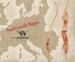 Traditionelle Bearpaw Bögen