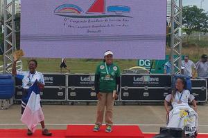 Jane Karla Rodrigues Gögel siegt in Goiana bei den Paralympischen Brasilianischen Meisterschaften