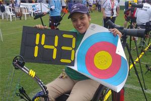 Jane Karla Rodrigues Gögel schießt drei neue Rekorde bei den Paralympischen Brasilianischen Meisterschaften