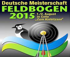 Deutsche Meisterschaft Feldbogen 2015 in Celle