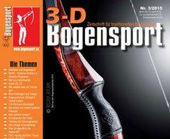 Cover Zeitschrift 3-D Bogensport Nr. 3/2015