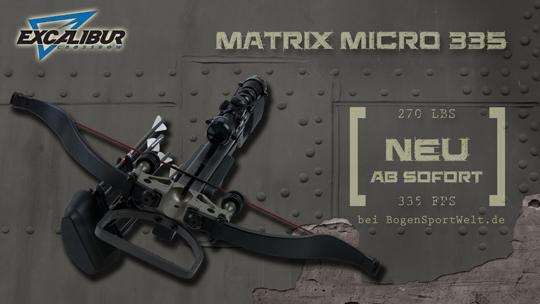 Die Matrix Micro 335 jetzt schon bei der BogenSportWelt.de bestellen