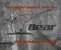 Die neuen Fred Bear Bögen 2015