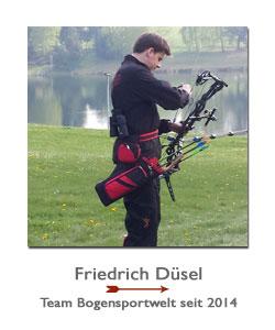 Compoundschütze Friedrich Düsel bei der BogenSportWelt.de