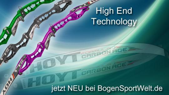 High-End Technology beim neuen Hoyt Prodigy bei der BogenSportWelt.de