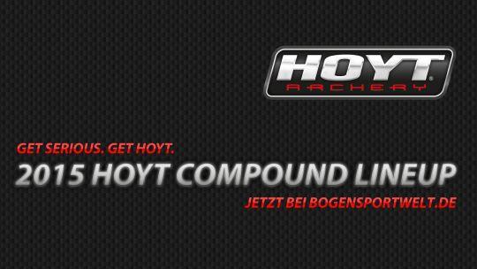 Hoyt Compound Lineup 2015 - jetzt bei der BogenSportWelt.de