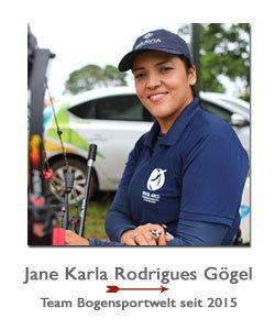 Jane Karla im Sponsoring Team seit 2015