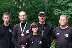 Jörn Schulte wird Erster bei der Landesmeisterschaft Feldbogen DSB 2015 in Dorsten