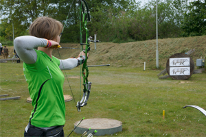 Lydia Laarz bei der Landesmeisterschaft Feld/Wald in Zepernick
