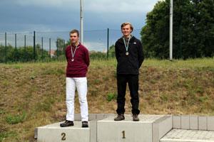 Compoundschütze Leon Hollas wird Erster bei der Landesmeisterschaft des Sächsischen Bogenschützenverbandes in Leipzig