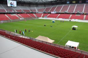 Das Stadion zum Bogenschießen beim European Youth Cup in Klagenfurt 2015