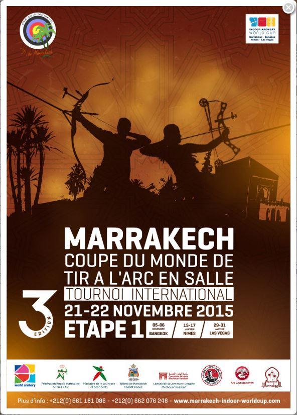 6th Marrakesh International Indoor Archery Tournament 2015