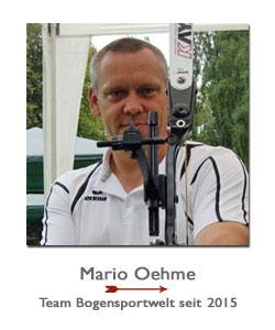 Bogenschütze Mario Oehme bei der BogenSportWelt.de