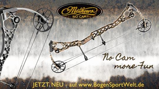 Die NoCam Serie von Mathews jetzt neu bei der BogenSportWelt.de