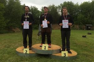 Compoundschütze Michael Miraky wird Dritter bei der Landesmeisterschaft 3D 2015 des NBSV in Coppenbrügge