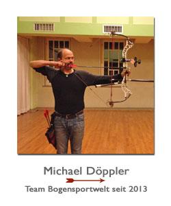 Compounschütze Michael Döppler bei der BogenSportWelt.de