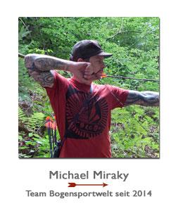 Compoundschütze Michael Mirkay bei der BogenSportWelt.de