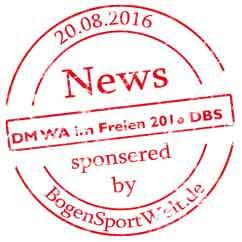 wir unterstützen die DM des DBS 2016