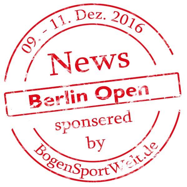 Berlin Open sponsored by BogenSportWelt