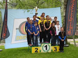 Siegerehrung 2016 Jugend Verbandspokal