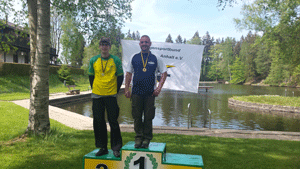 1.Platz bei der LM Feld und Wald für Ronny