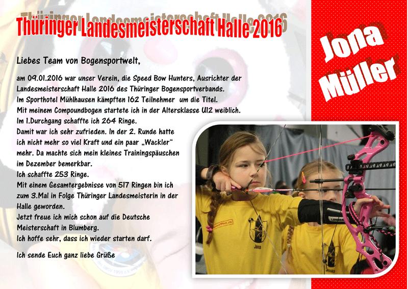 Thüringer Landesmeisterschaft 2016
