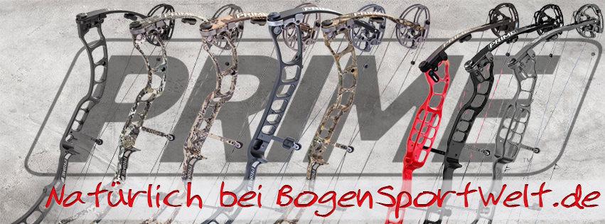 Prime jetzt wieder bei der Bogensportwelt.de