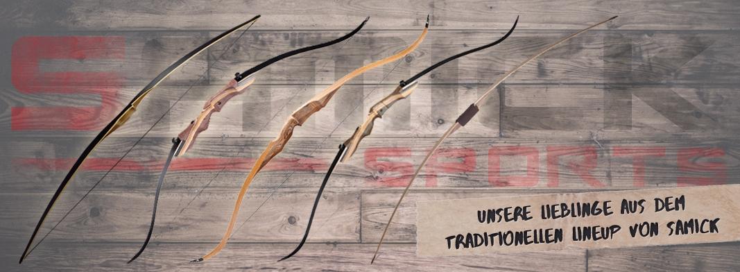 Samick LineUp 2016 - traditionell und sportlich