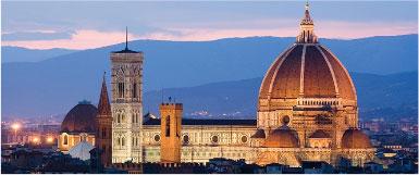 Die Kathedrale von Santa Maria del Fiore in Florenz