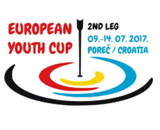 Logo European Youth Cup 2. Etappe Porec, Kroatioen