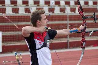 Moritz Wieser beim European Youth Cup in Marathon
