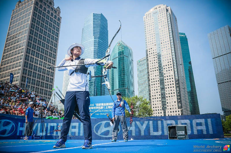 Hyundai Archery World Cup in Shanghai