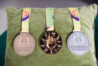 Um diese Medaillen wird bei den World Games in Breslau gekämpft