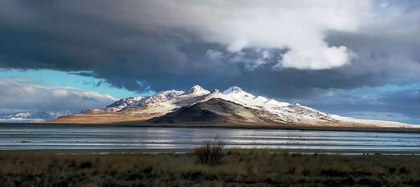 Tolle Umgebung: der große Salzsee