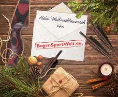Facebook-Verlosung: Mein Weihnachstwunsch von BogenSportWelt.de