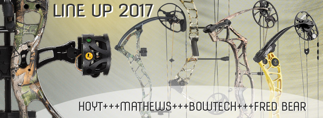 Compound LineUp diverser Hersteller 2017