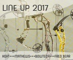 LineUp 2017 diverser Hersteller