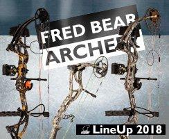 LineUp 2018 Fred Bear Archery bei BogenSportWelt.de