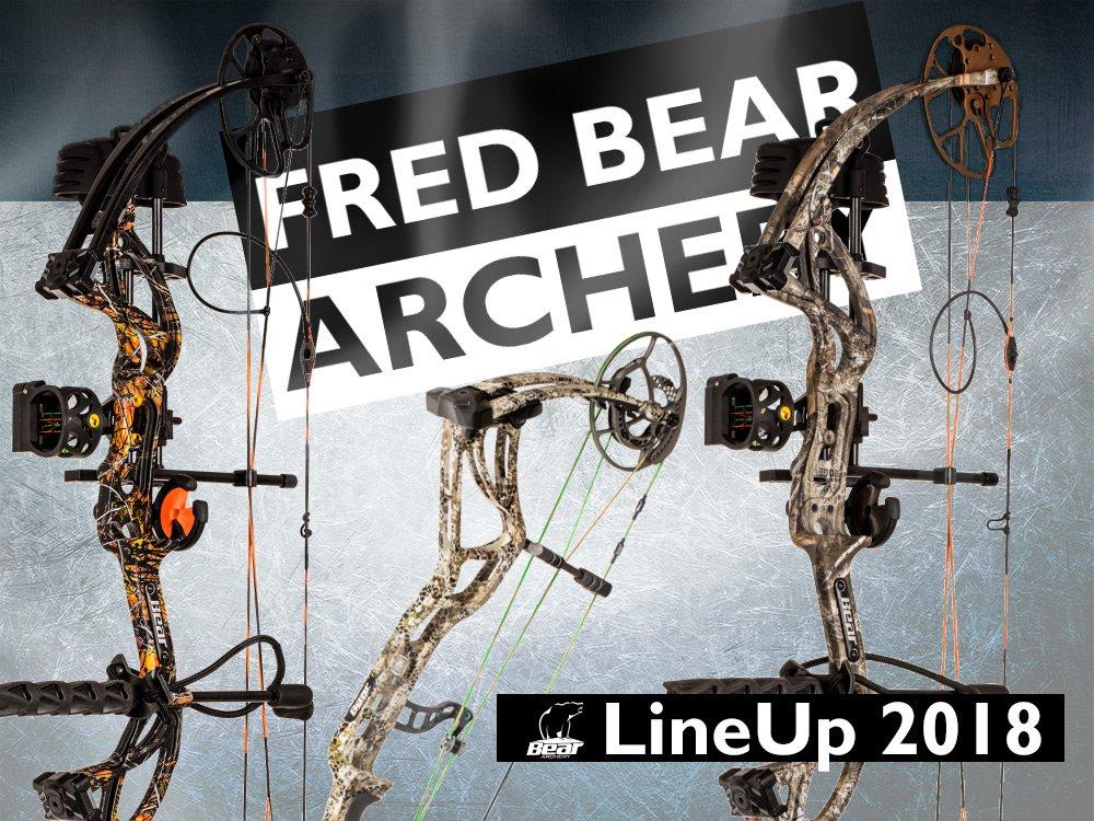 LineUp 2018 neue heiße Compounds von Fed Bear Archery
