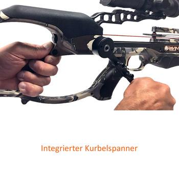 integrierter Kurbelspanner