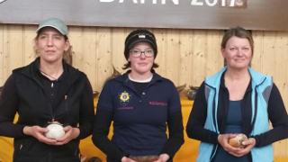 Und das dritte Mal in Folge: Erster Platz für Daniela Klesmann!