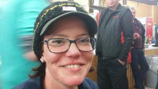 Daniela Klesmann war auch in diesem Jahr beim 42. Internationalen Feld- und Jagdturnier in Dahn dabei