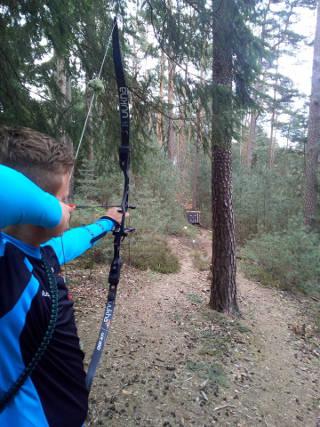 Justus Poggensee auf dem 42. Internationalen Feld- und Jagdturnier in Dahn