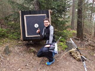 Guter Treffer für Nils Noack beim 42. Internationalen Feld- und Jagdturnier in Dahn