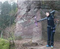 Nils Noack auf dem 42. Internationalen Feld- und Jagdturnier in Dahn